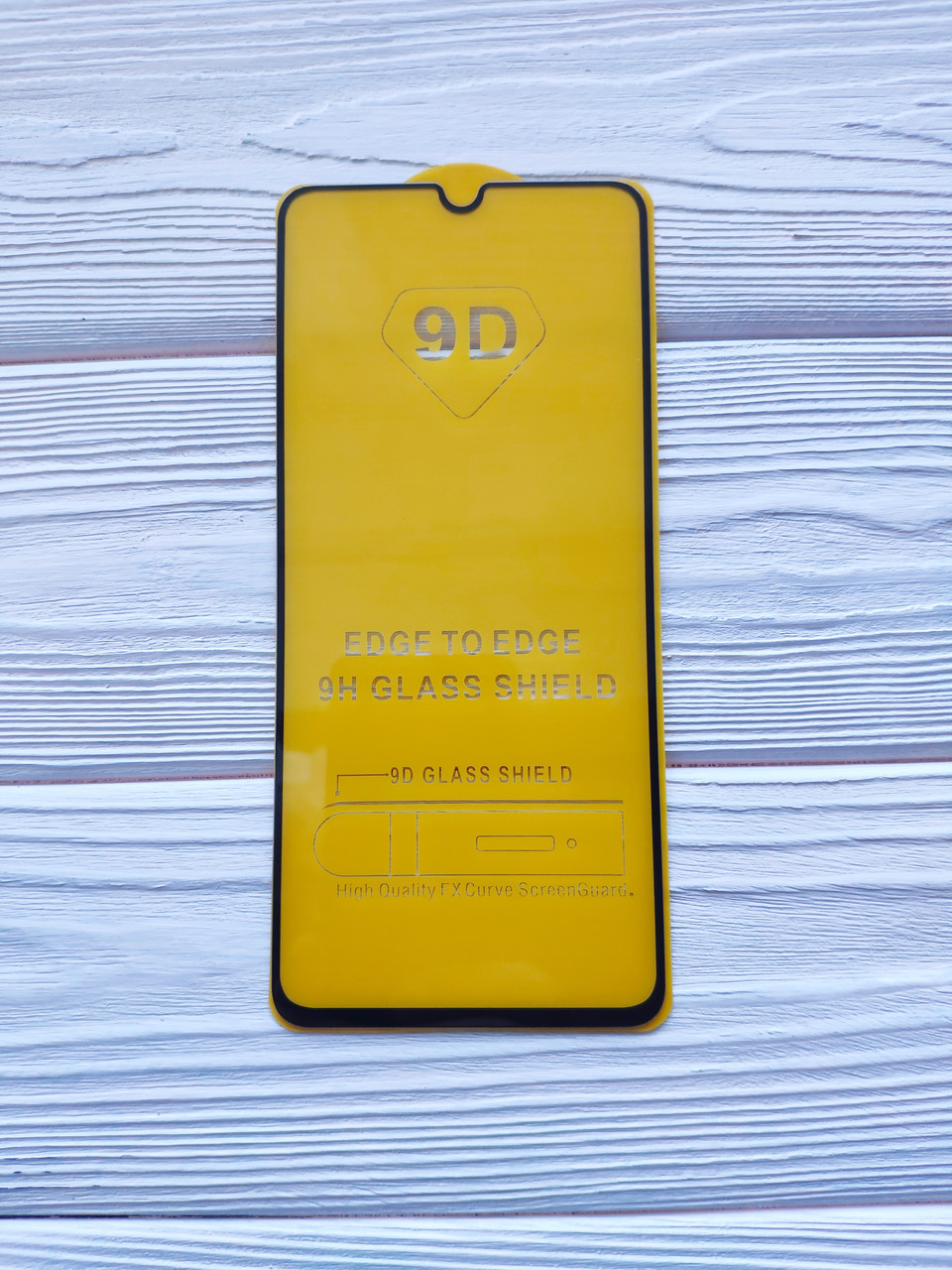 Захисне скло 9D для Xiaomi Redmi 9A Full Glue Чорне