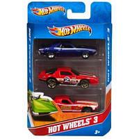 Подарочный набор из 3х автомобилей Hot Wheels