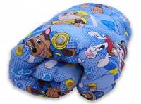 Одеяло полуторное теплое +1 подушка 50х70, искусственный лебяжий пух, фото 1
