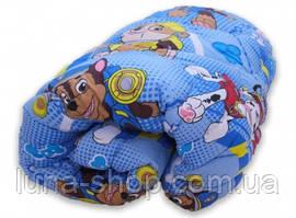 Одеяло полуторное теплое +1 подушка 50х70, искусственный лебяжий пух