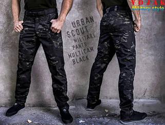 "Брюки Rip-Stop ""URBAN SCOUT"" MULTICAM BLACK"