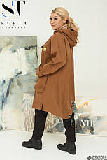 Ветровка куртка  легкая женская размеры: 52-66, фото 3