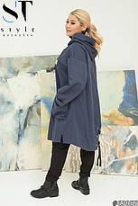 Ветровка куртка  легкая женская размеры: 52-66, фото 2