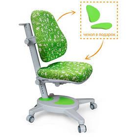 Дитяче крісло Mealux Onyx зелене в пікселях