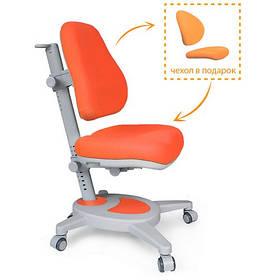 Дитяче крісло Mealux Onyx помаранчеве однотонне
