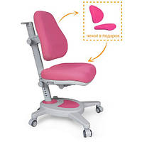 Детское кресло Mealux Onyx розовое однотонное