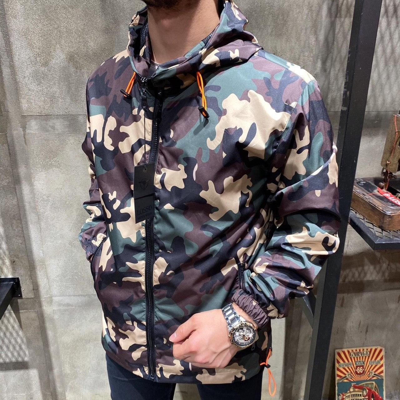 Чоловіча мілітарі куртка SS-01