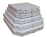 Коробка под пиццу, 300X300X33 мм, Т22E белая