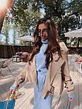 Жіноча куртка шкіряна оверсайз зі спущеним рукавом 7101327, фото 5