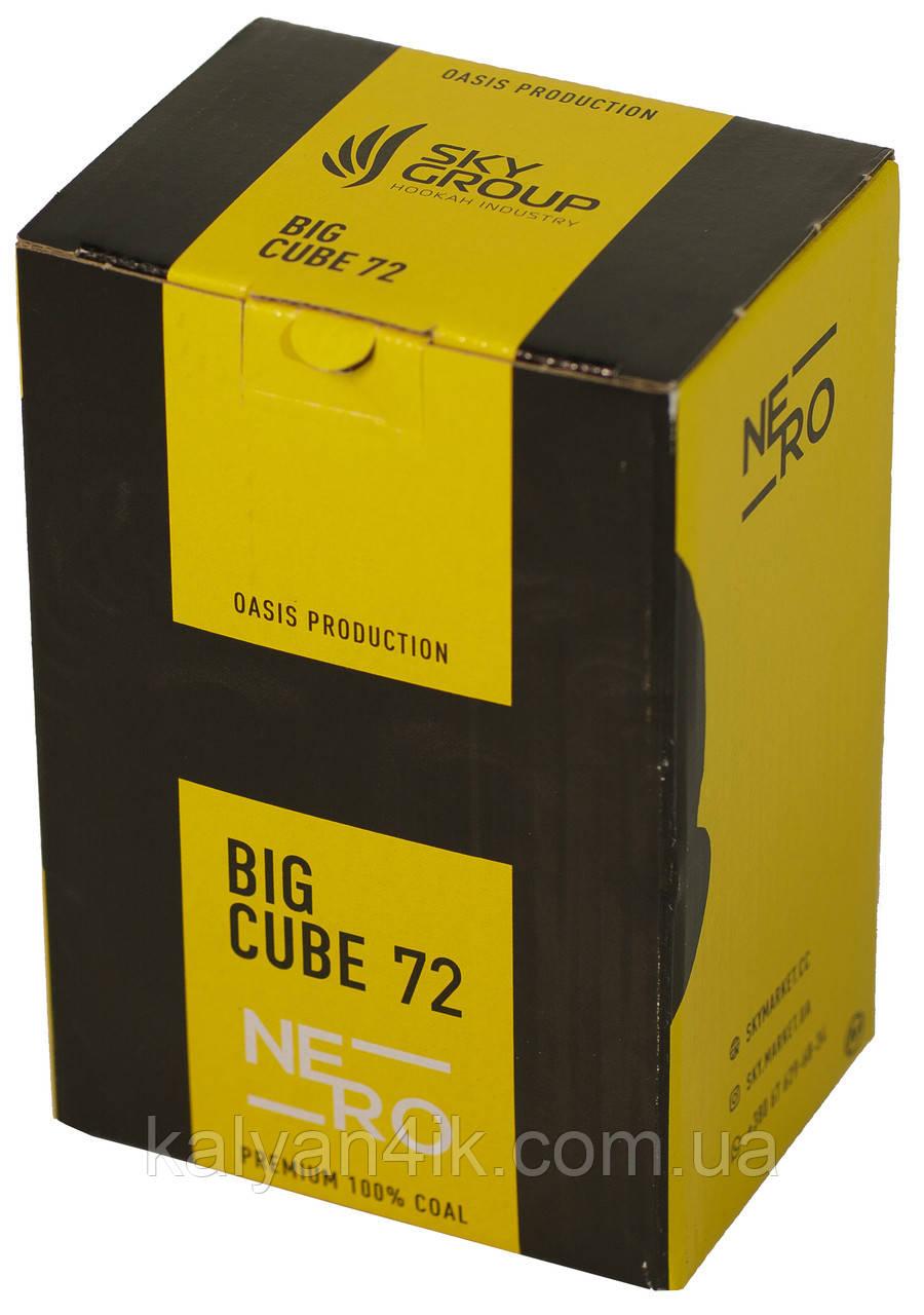 Уголь Nero 1кг 25-й кубик В Упаковке