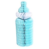 Паперові стільники з тишею Дитяча пляшечка, блакитна, фото 1