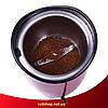 Кавомолка Domotec MS-1306 200ватт - потужна кавомолка з нержавіючої сталі, фото 2