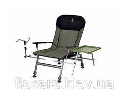 Кресло карповое складное со столиком и подставкой Elektrostatyk FK5 ST/P NN