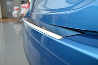 Накладка на Задний Бампер с ЗАГИБОМ — Накладка на Бампер BMW X5 II (E70) 2007-2013