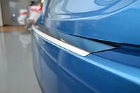 Накладка на Задний Бампер с ЗАГИБОМ — Накладка на Бампер LADA 111 combi 2009-