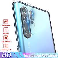 Защитное стекло на заднюю камеру Huawei P30 Pro
