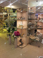 Торгово-выставочное оборудование на заказ, торговая мебель, мебель для выставки изготовить,стеллажи