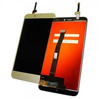 Xiaomi Дисплей Xiaomi Redmi 4X с сенсором, золотистый (оригинальные комплектующие)