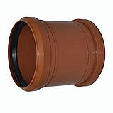 Муфта ПВХ 250 для канализации, фото 3