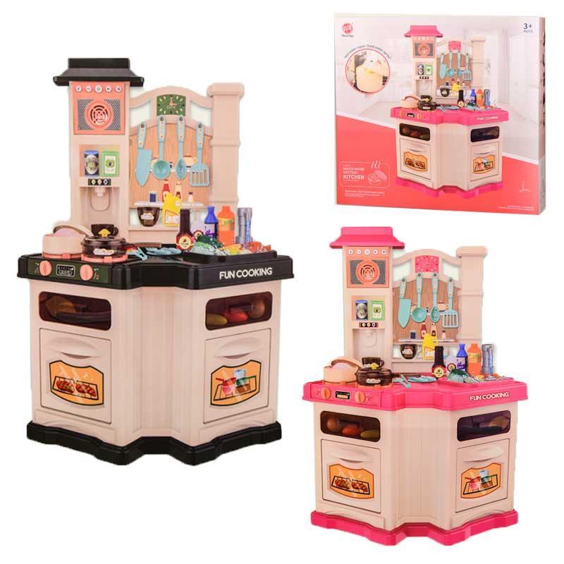 Детский игровой набор кухня 848А/В, с циркуляцией воды, звук, свет