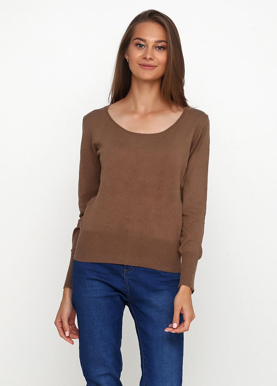 Женский джемпер коричневый CHD,L-XL