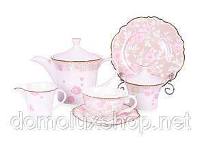 Lefard Виллари Сервиз чайный 15 предметов + 6 тарелок (935-014)