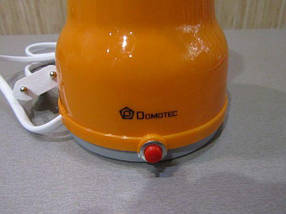 Електрична Кавомолка Domotec KP-125 - Електроімпульсна кавомолка 180Вт з нержавіючої сталі, фото 3