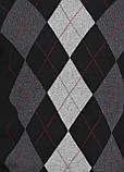 Мужской пуловер CHD черно-серый,XL-2XL, фото 4