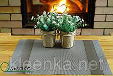 Салфетки-подложки, сеты в кафе PVS 35см*40см, серветка-підставка вінілова