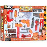 Детский набор инструментов в коробке 18 деталей, фото 3