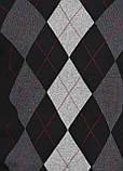 Мужской пуловер CHD черно-серый ,2XL-3XL, фото 4