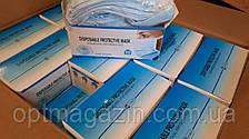 Маска защитная медицинская трехслойная, фото 2