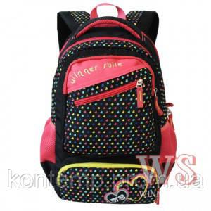 Рюкзак шкільний для дівчаток Winner 152