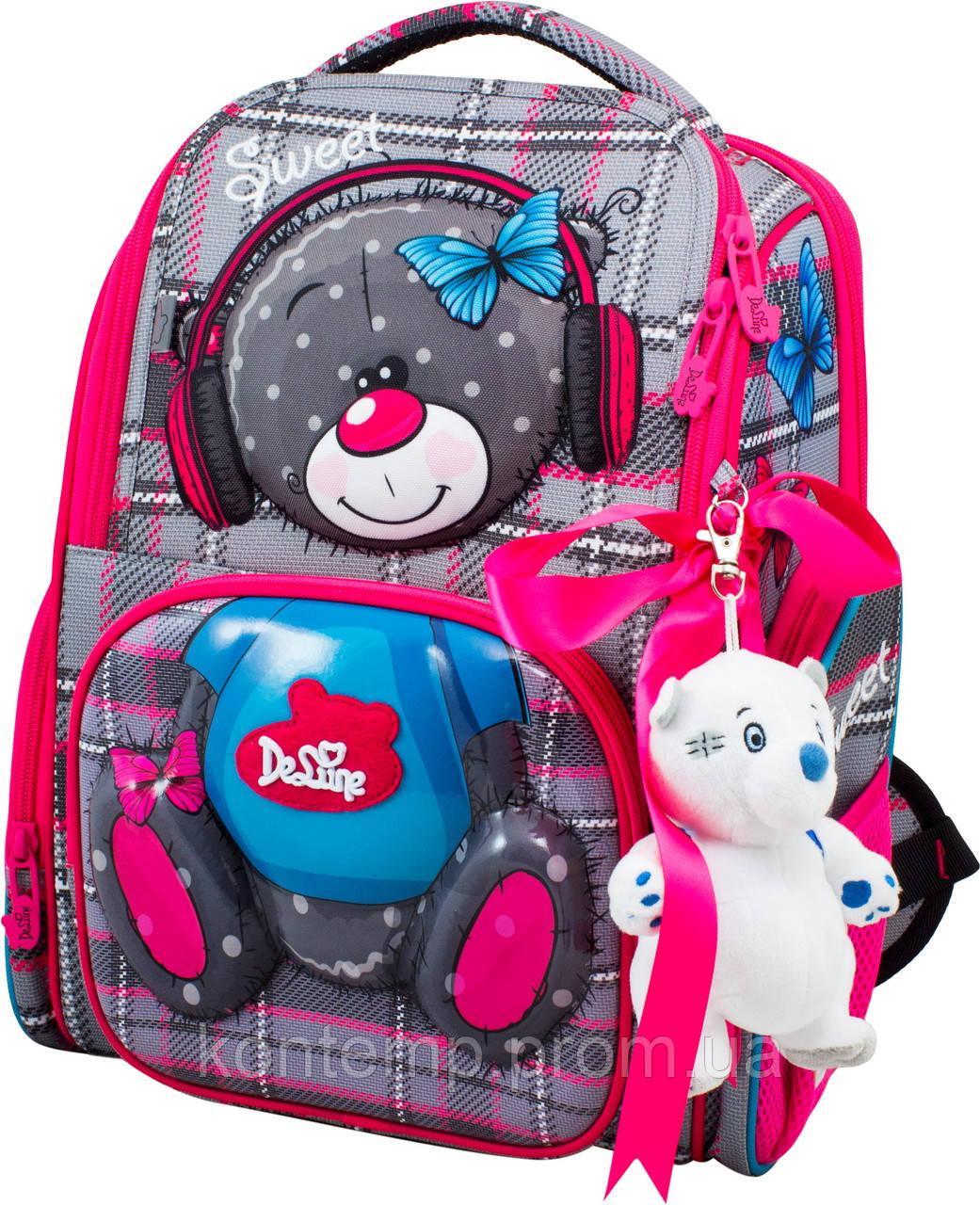 Шкільний ранець для дівчаток DeLune 11-026