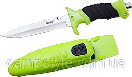 Нож для подводной охоты и дайвинга SS 11
