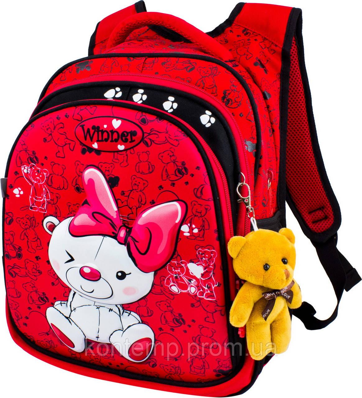 Рюкзак шкільний для дівчаток Winner 8019