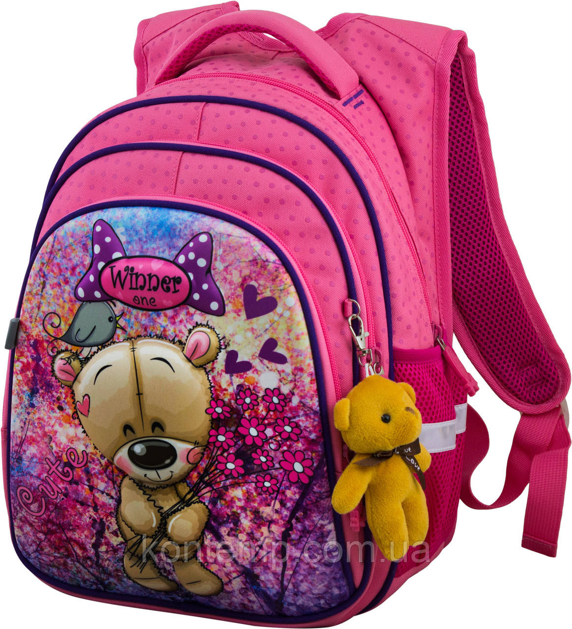 Рюкзак шкільний для дівчаток Winner One R2-166