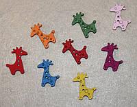 Пуговица Жирафик 600-53 упаковка 10 шт