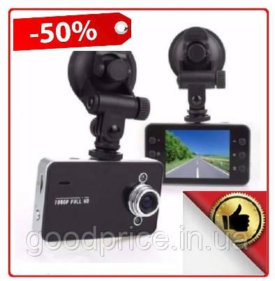 Автомобильный видеорегистратор DVR K6000, Full HD обзор 170° ночное видения,  авто видео регистратор