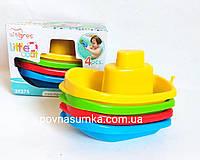 Кораблики для ванни,4 шт., фото 1