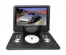 """Автомобільний портативний DVD плеєр NS-1129 Opera 13.8""""  з акумулятором USB + TV, фото 2"""
