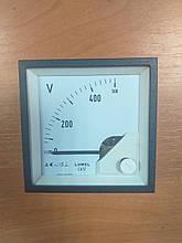 Аналоговый вольтметр LUMEL EA 17N E615500V. Польша