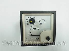 Аналоговый вольтметр EP27N E615 500V LUMEL Польша