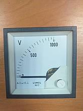 Аналоговый вольтметр MA17N A618 1kV LUMEL Польша