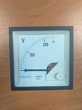 Аналоговый вольтметр MA17N A613 250V LUMEL Польша