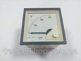 Аналоговый вольтметр MA17N A612 150V LUMEL Польша