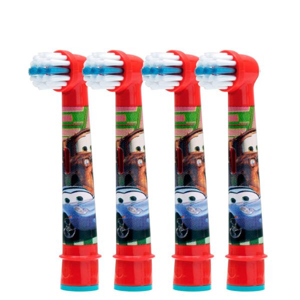Oral-B насадки EB10 Тачки і літаки для зубної щітки 4 шт. ЄС