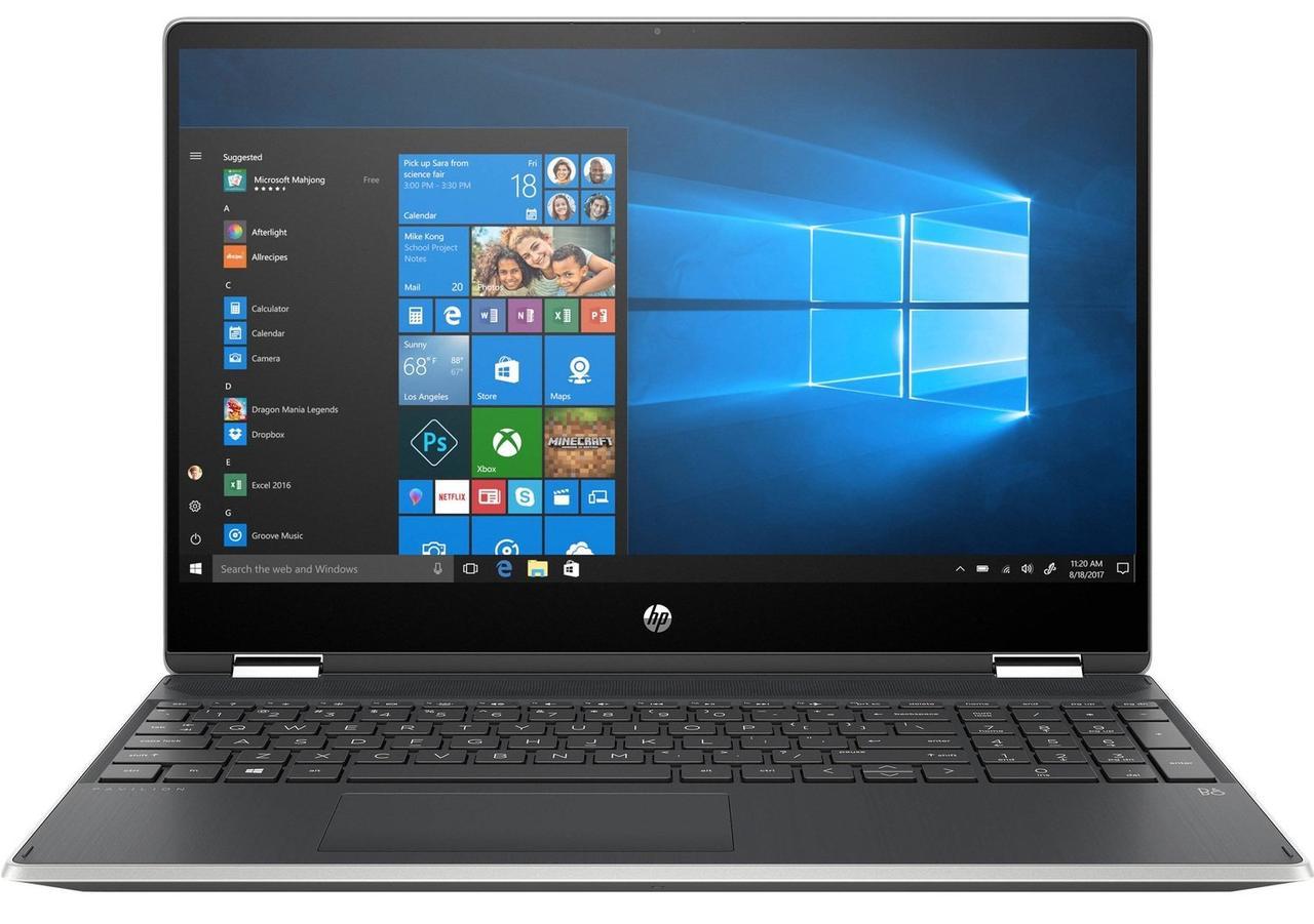 """Ноутбук HP Pavilion x360 15.6"""" Сріблястий (9PU47EA)"""