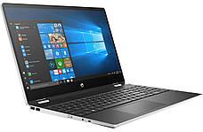"""Ноутбук HP Pavilion x360 15.6"""" Сріблястий (9PU47EA), фото 2"""