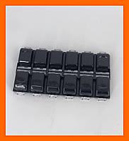 Компактный контейнер для страз и мелких аксессуаров для дизайна ногтей
